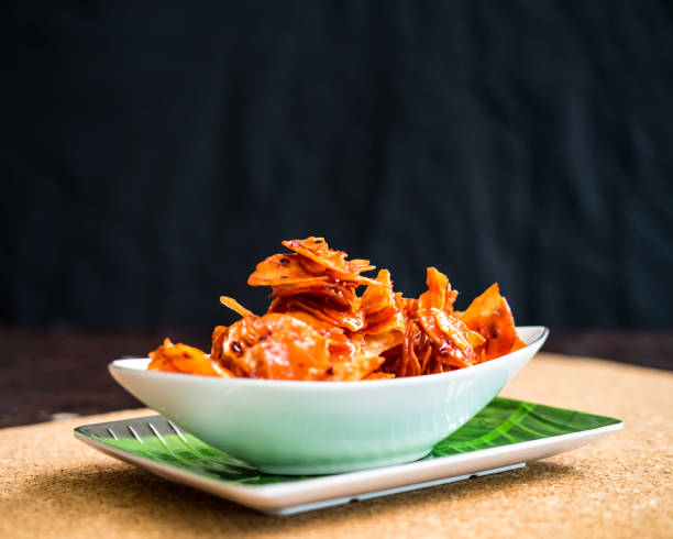 Kerepek Pedas Or Crackers Made Of Cassava Or Tapioca. Sliced, Fried And Cooked With Chilli.