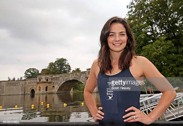 Keri Anne Payne during the British Gas SwimBritain event at Blenheim Palace on September 7 2014 in Woodstock England