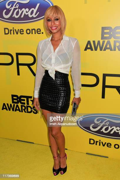 Keri Hilson attends BET network's 5th annual preBET awards celebration dinner at Book Bindery on June 25 2011 in Los Angeles California