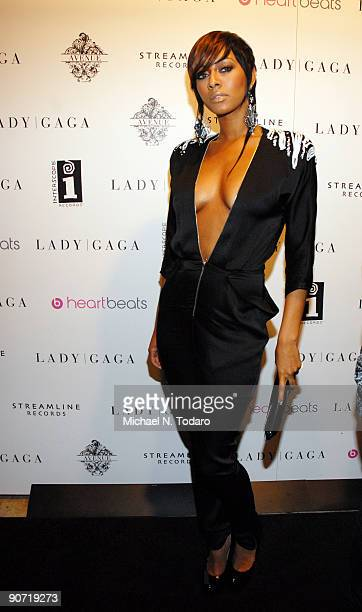 Keri Hilson attends lady Gaga's 2009 MTV Video Music Awards after party at Avenue on September 13 2009 in New York City