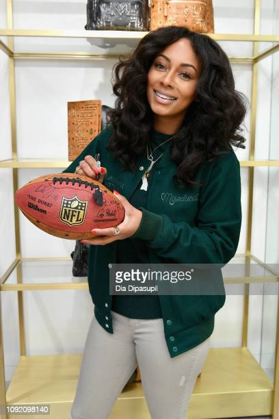 Keri Hilson attends MCM x Super Bowl LIII on February 1, 2019 in Atlanta, Georgia.