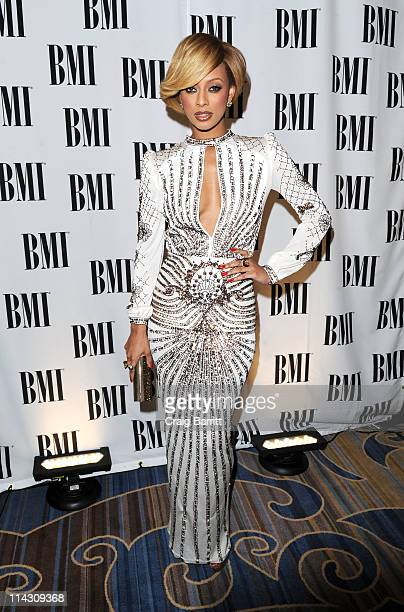Keri Hilson attends the 59th Annual BMI Pop Awards at the Beverly Wilshire Four Seasons Hotel on May 17 2011 in Beverly Hills California