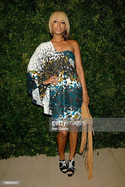 Keri Hilson attends the 7th Annual CFDA/Vogue Fashion Fund Awards at Skylight SOHO on November 15 2010 in New York City