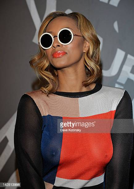 Keri Hilson attends the Hennessy 'Wild Rabbit' campaign launch event at the Highline Studios on April 5 2012 in New York City