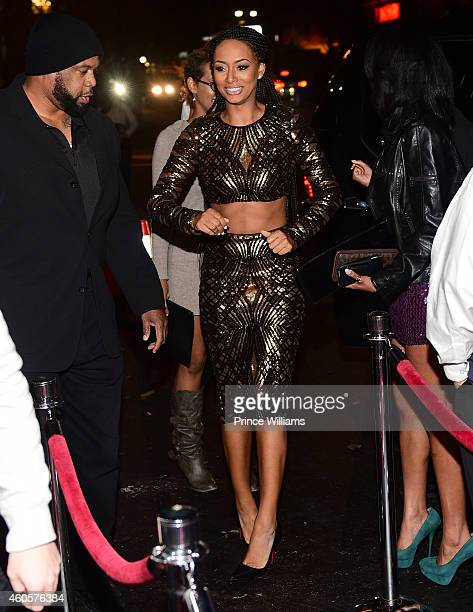Keri Hilson hosts Gold Room on December 8 2014 in Atlanta Georgia