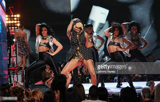 Keri Hilson performs at BET's Rip the Runway 2011 at The Manhattan Center on February 26 2011 in New York City