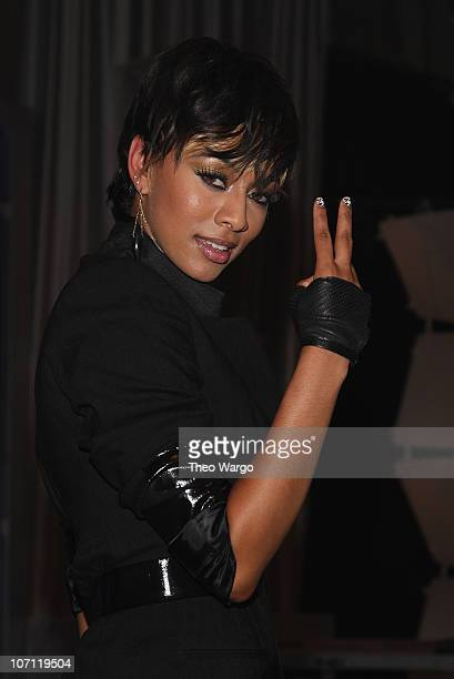 Keri Hilson performs at Grey Goose Entertainment BET's 'Rising Icons' series at CBS Studios on July 28 2009 in New York City