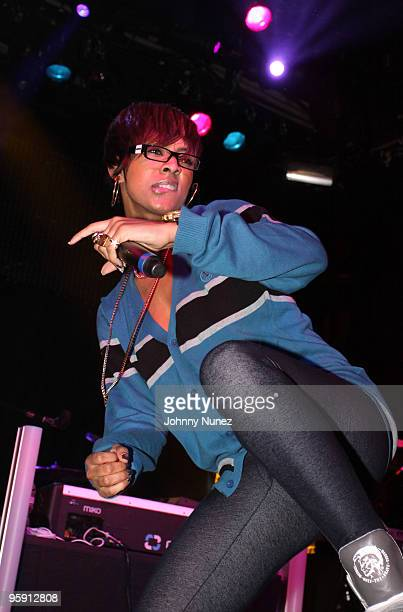 Keri Hilson performs at Irving Plaza on January 20 2010 in New York City
