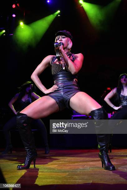 Keri Hilson performs at Perez Hilton's One Night In Jersey concert at the House of Blues October 29 2010 in Atlantic City New Jersey