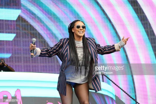 Keri Hilson performs during Friday James Live 2019 at Western Springs Stadium on November 17, 2019 in Auckland, New Zealand.