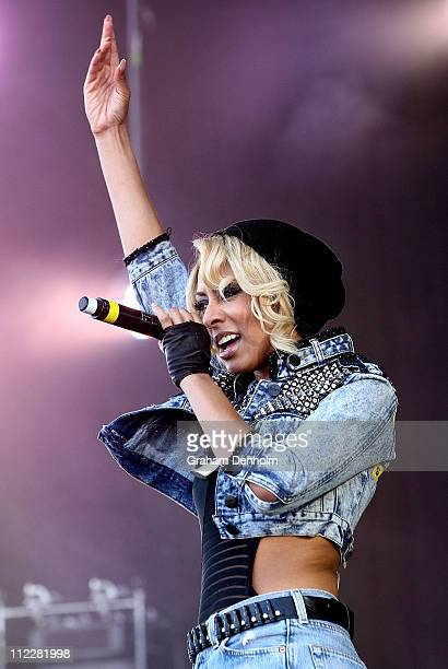 Keri Hilson performs on stage during the Supafest Music Festival at Melbourne Showgrounds on April 17, 2011 in Melbourne, Australia.