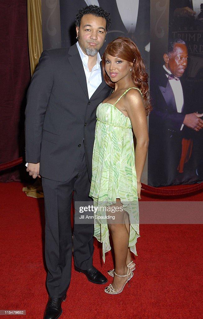 Keri Lewis and Toni Braxton during 2007 Trumpet Awards Celebrate African American Achievement at Bellagio Hotel in Las Vegas, Nevada, United States.