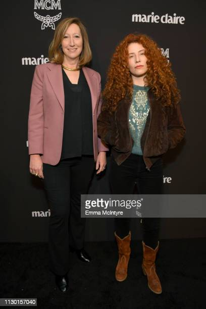 Keri Putnam and Alma Har'el are seen as Marie Claire honors Hollywood's Change Makers on March 12 2019 in Los Angeles California