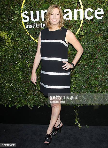 Keri Putnam arrives at the 2015 Sundance Institute Celebration Benefit held at 3LABS on June 2 2015 in Culver City California