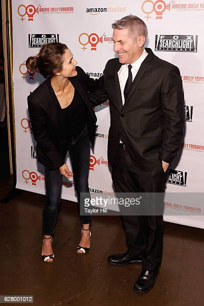 Keri Russell and Andy Ostroy attend the Adrienne Shelly Foundation 10th Anniversary Gala at The Angel Orensanz Foundation on December 5 2016 in New...