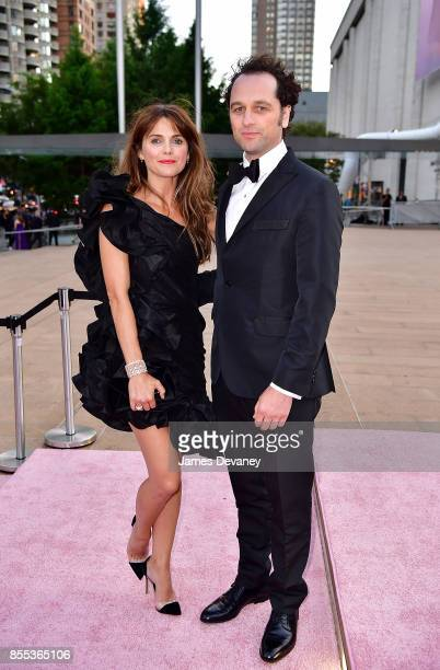 Keri Russell and Matthew Rhys arrive to the New York City Ballet's 2017 Fall Fashion Gala at David H Koch Theater at Lincoln Center on September 28...