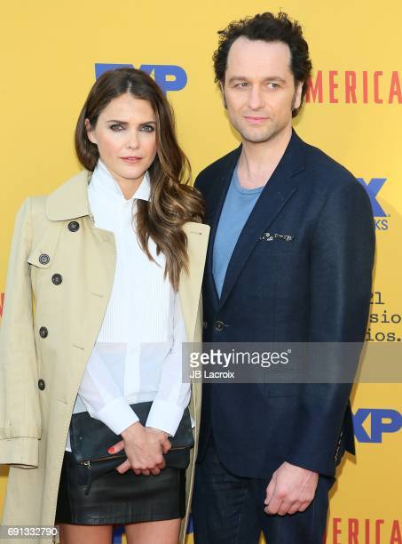Keri Russell and Matthew Rhys attend FX's 'The Americans' For Your Consideration at Saban Media Center on June 01 2017 in North Hollywood California