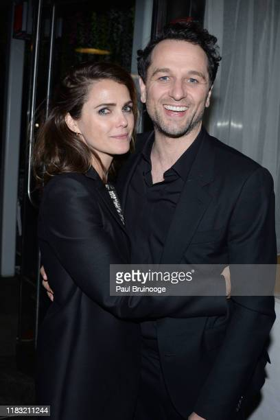 """Keri Russell and Matthew Rhys attend New York Special Screening Of """"A Beautiful Day In The Neighborhood"""" After Party on November 17, 2019 in New York..."""