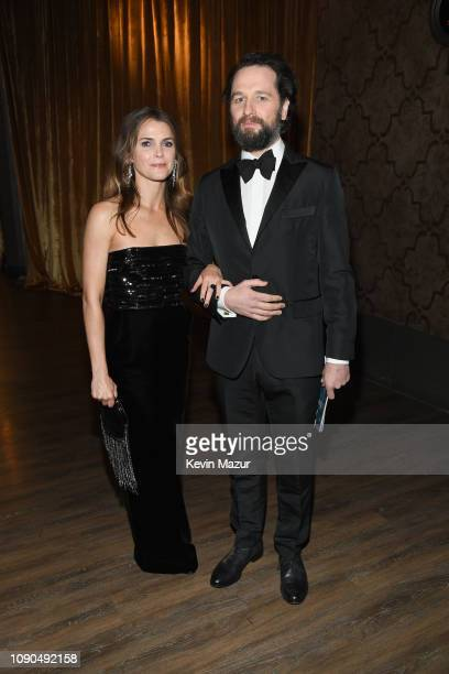 Keri Russell and Matthew Rhys attend the 25th Annual Screen Actors Guild Awards at The Shrine Auditorium on January 27, 2019 in Los Angeles,...