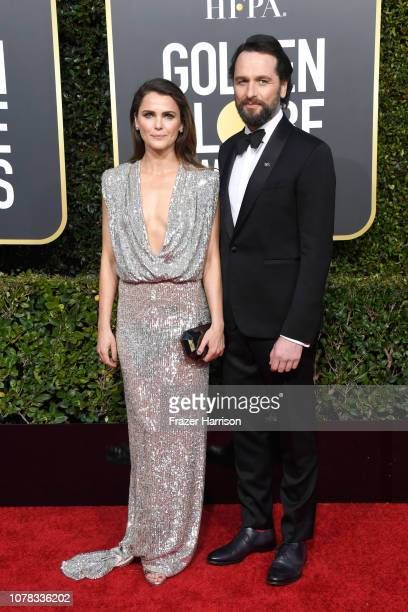 Keri Russell and Matthew Rhys attend the 76th Annual Golden Globe Awards at The Beverly Hilton Hotel on January 6 2019 in Beverly Hills California