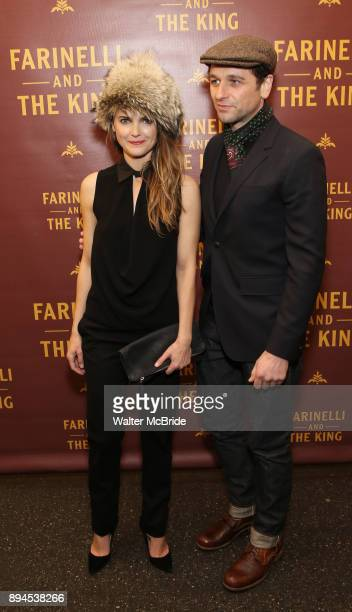 Keri Russell and Matthew Rhys attends the Broadway Opening Night performance of 'Farinelli and the King' at The Belasco Theatre on November 17 2017...