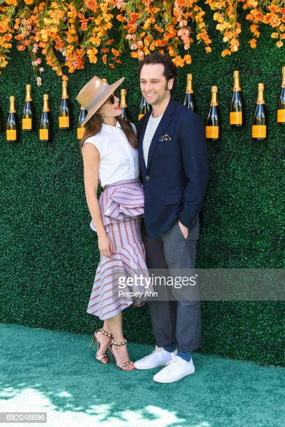 Keri Russell and Matthew Rhys attends The Tenth Annual Veuve Clicquot Polo Classic Arrivals at Liberty State Park on June 3 2017 in Jersey City New...