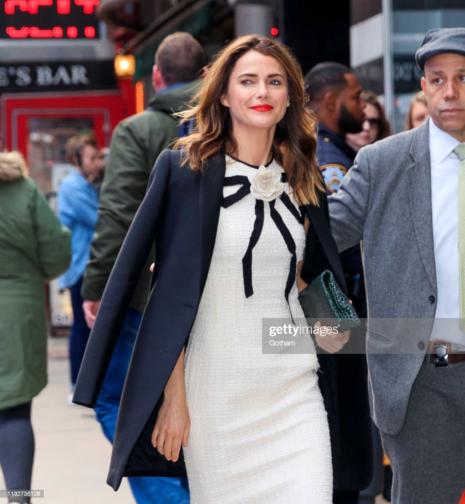 NY: Celebrity Sightings In New York City - March 25, 2019