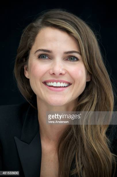 Keri Russell at the Dawn Of The Planet Of The Apes Press Conference at the Ritz Carlton Hotel on June 27 2014 in San Francisco California