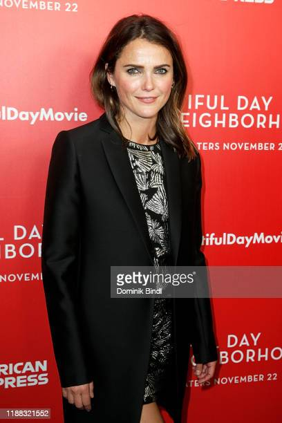 "Keri Russell attends ""A Beautiful Day In The Neighborhood"" New York Screening at Henry R. Luce Auditorium at Brookfield Place on November 17, 2019 in..."
