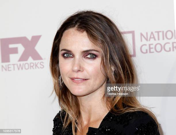 Keri Russell attends FOX Broadcasting Company, FX, National Geographic and 20th Century Fox Television 2018 Emmy Nominee Party at Vibiana on...