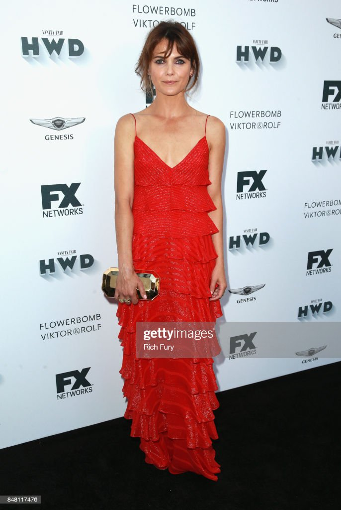 Keri Russell attends FX and Vanity Fair Emmy Celebration at Craft on September 16, 2017 in Century City, California.
