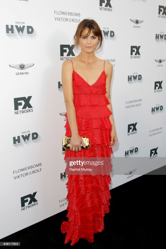 Keri Russell attends FX Networks celebration of their Emmy nominees in partnership with Vanity Fair at Craft on September 16, 2017 in Century City, California.
