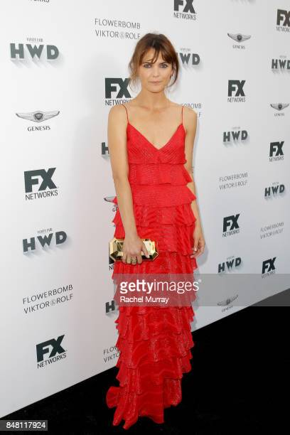 Keri Russell attends FX Networks celebration of their Emmy nominees in partnership with Vanity Fair at Craft on September 16 2017 in Century City...
