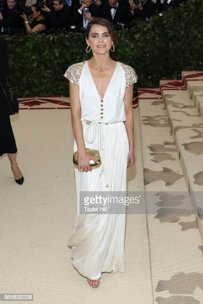 Keri Russell attends Heavenly Bodies Fashion the Catholic Imagination the 2018 Costume Institute Benefit at Metropolitan Museum of Art on May 7 2018...