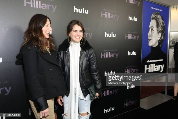 Keri Russell attends Hulu's Hillary NYC Premiere on March 04 2020 in New York City