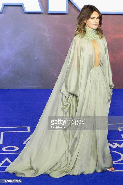 Keri Russell attends ''Star Wars The Rise of Skywalker'' European Premiere at Cineworld Leicester Square on December 18 2019 in London