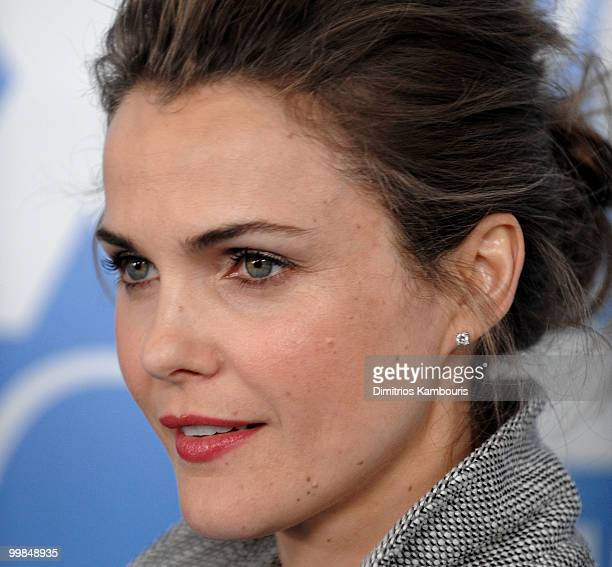 Keri Russell attends the 2010 FOX Upfront after party at Wollman Rink Central Park on May 17 2010 in New York City