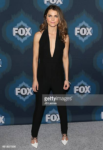 Keri Russell attends the 2015 Fox AllStar Party at the Langham Hotel on January 17 2015 in Pasadena California