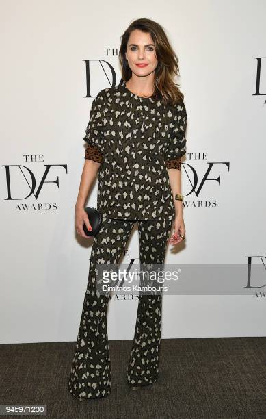 Keri Russell attends The 2018 DVF Awards at United Nations on April 13, 2018 in New York City.
