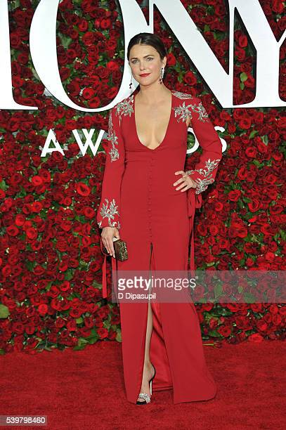 Keri Russell attends the 70th Annual Tony Awards at the Beacon Theatre on June 12 2016 in New York City