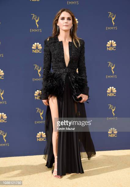 Keri Russell attends the 70th Emmy Awards at Microsoft Theater on September 17 2018 in Los Angeles California