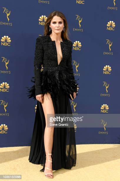 Keri Russell attends the 70th Emmy Awards at Microsoft Theater on September 17, 2018 in Los Angeles, California.