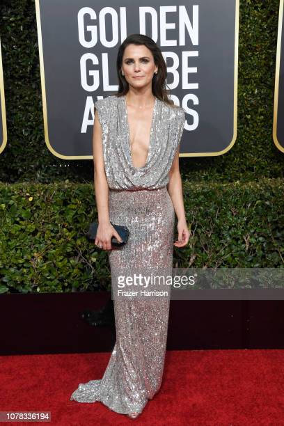 Keri Russell attends the 76th Annual Golden Globe Awards at The Beverly Hilton Hotel on January 6 2019 in Beverly Hills California