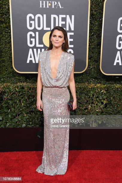 Keri Russell attends the 76th Annual Golden Globe Awards at The Beverly Hilton Hotel on January 6, 2019 in Beverly Hills, California.