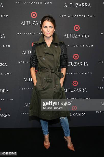 Keri Russell attends the Altuzarra for Target launch event at Skylight Clarkson Sq on September 4 2014 in New York City