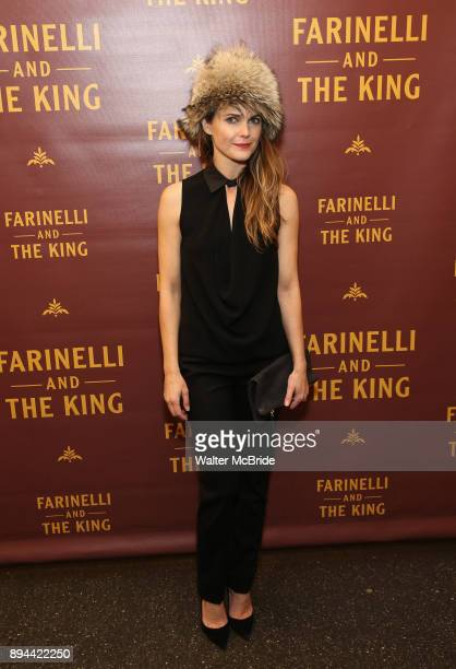 Keri Russell attends the Broadway opening night performance of 'Farinelli and the King' at The Belasco Theatre on November 17 2017 in New York City