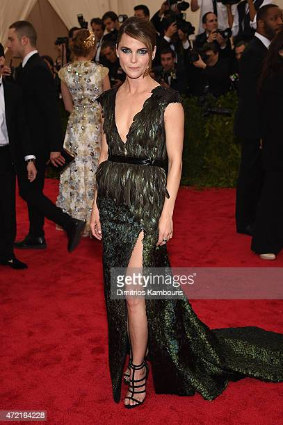 Keri Russell attends the China Through The Looking Glass Costume Institute Benefit Gala at the Metropolitan Museum of Art on May 4 2015 in New York...