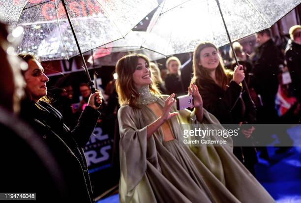"Keri Russell attends the European premiere of ""Star Wars: The Rise of Skywalker"" at Cineworld Leicester Square on December 18, 2019 in London,..."
