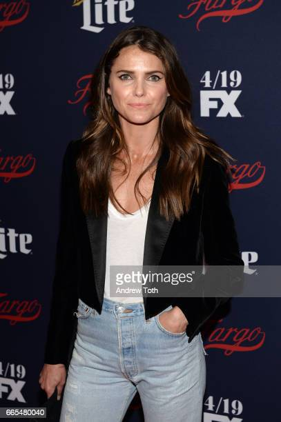 Keri Russell attends the FX Network 2017 AllStar Upfront at SVA Theater on April 6 2017 in New York City