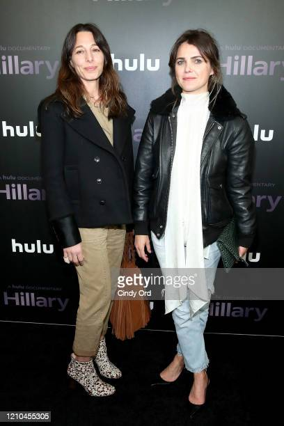 Keri Russell attends the Hillary New York Premiere at Directors Guild of America Theater on March 04 2020 in New York City